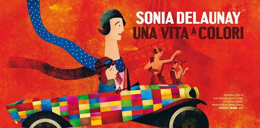 Gli albi illustrati tra arte e moda 1. Sonia Delaunay e gli anni Dieci